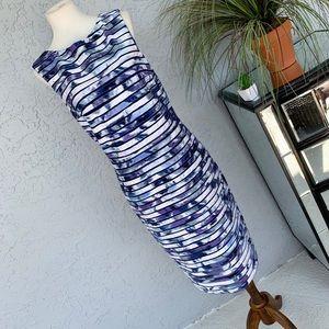 • Cache • Midi Water Color Look Mesh Dress • 10